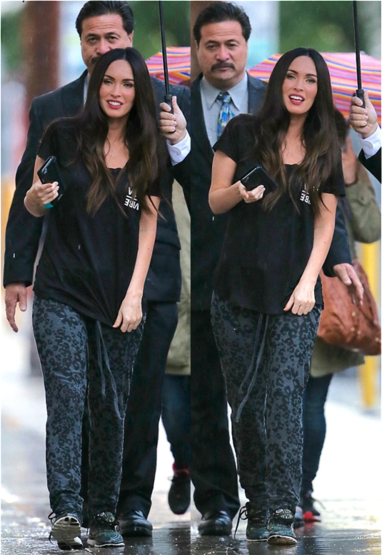 Casual Chic Megan Fox