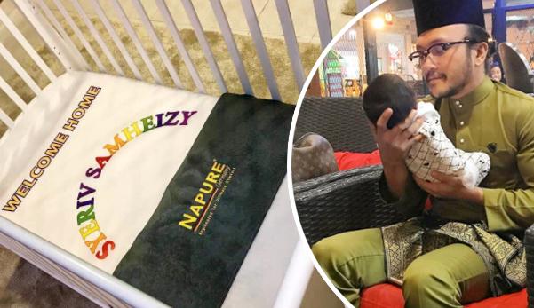 'Syeriv Samheizy', Netizen Tergeliat Lidah Nak Sebut Nama Anak Shaheizy Sam