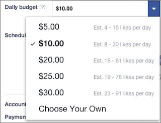 Biaya Promosi Di Facebook