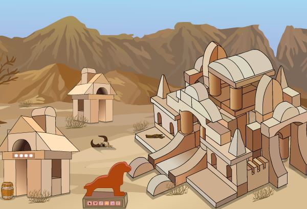 Camel Escape From Desert Walkthrough