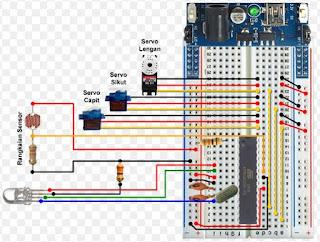 Proyek Arduino Pilah Warna