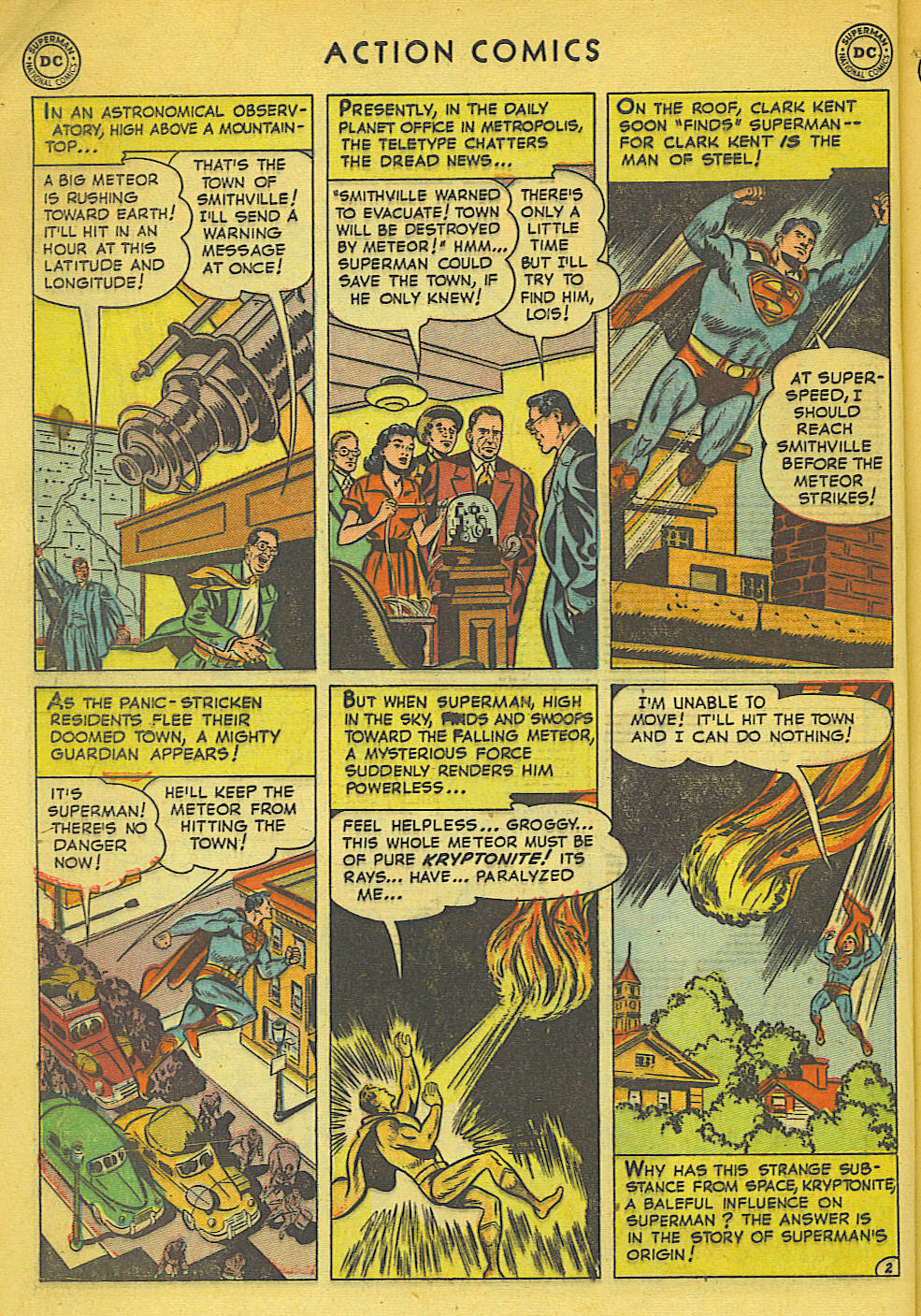Read online Action Comics (1938) comic -  Issue #158 - 3