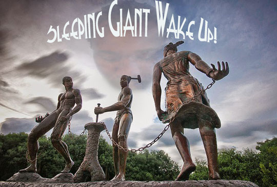 Sleeping Giant Wake Up
