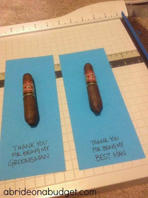 Looking for a great groomsman gift idea? Check out this Thank You For Being My Groomsman Gift from www.abrideonabudget.com.