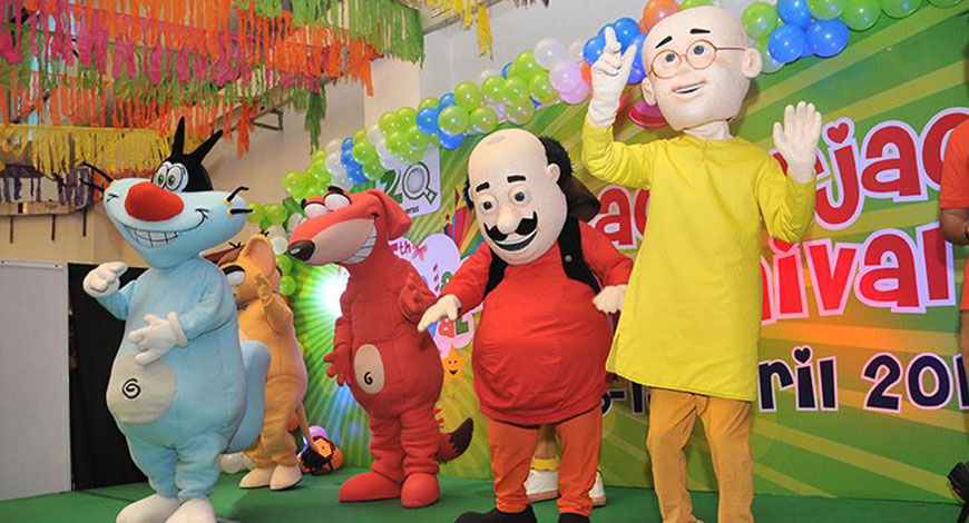 Nickalive Nickelodeon India S Shiva To Attend 11th Krackerjack