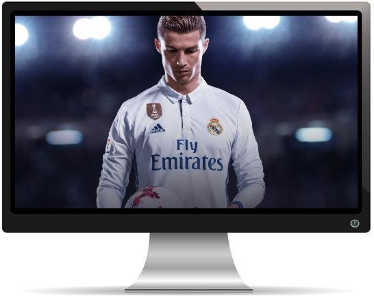 FIFA 18 Cristiano Ronaldo - Fond d'écran en Ultra HD 4k