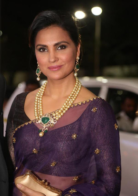 Lara Dutta in Monisha Jaising Lehenga