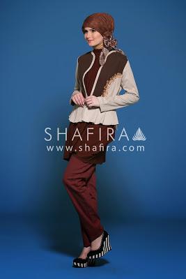 Model Pakaian Muslim Shafira Modern Terbaru