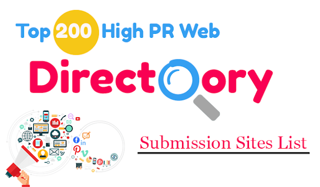 Top 200+ Free High Authority Directory Submission Sites List
