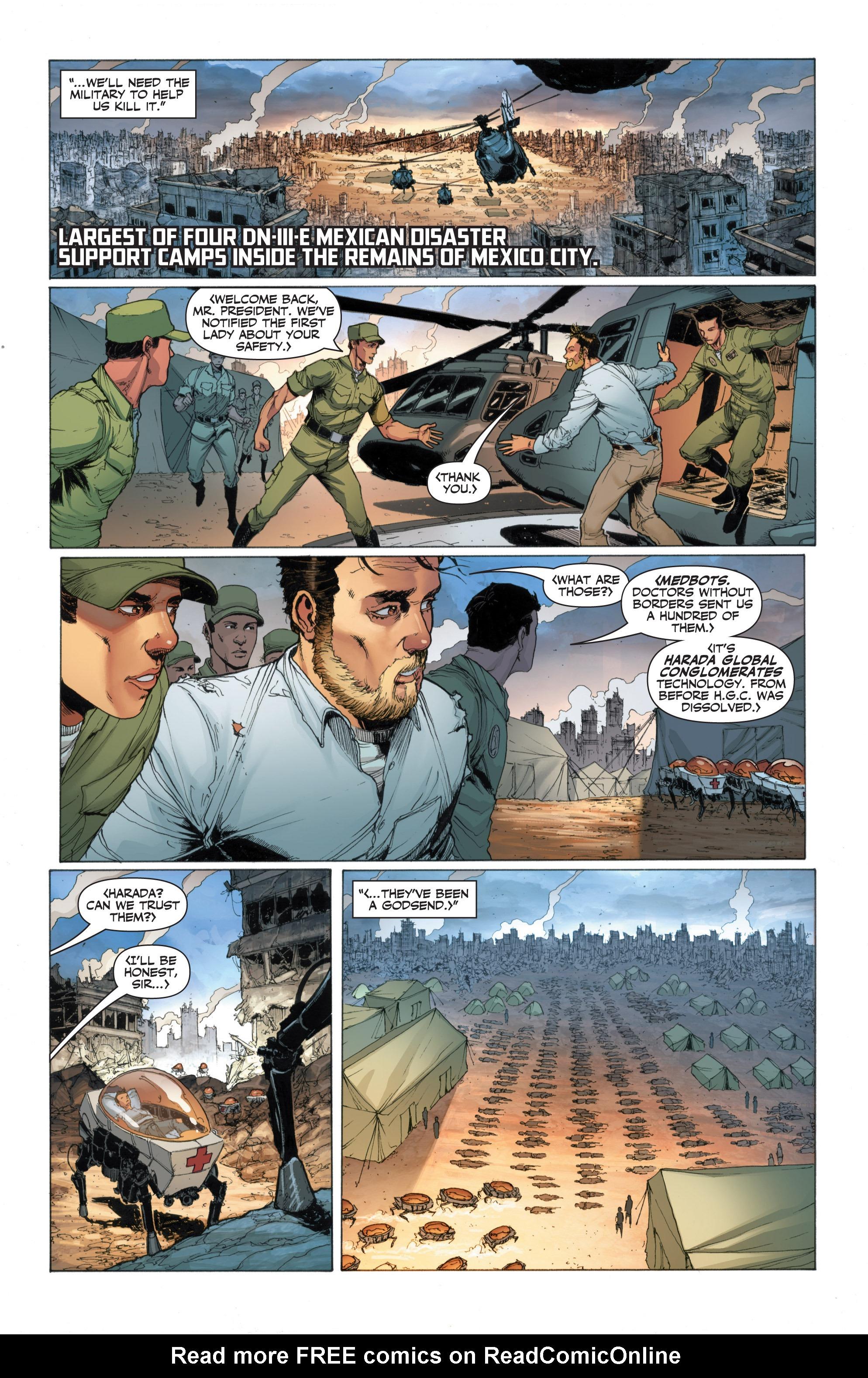 Read online Armor Hunters: Harbinger comic -  Issue # TPB - 44