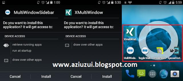 Dual Layar Android