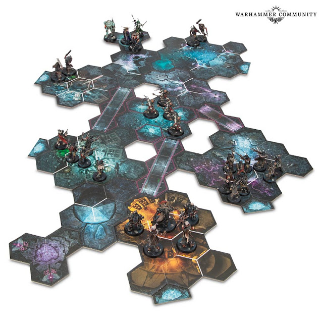 Tablero hexagonal Blackstone Fortress