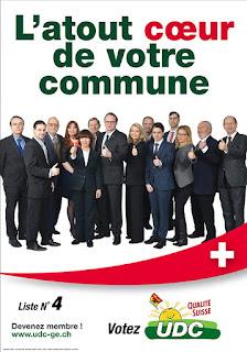 L'affiche de campagne 2015