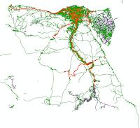 الخرائط الرقمية لدولة مصر 2018