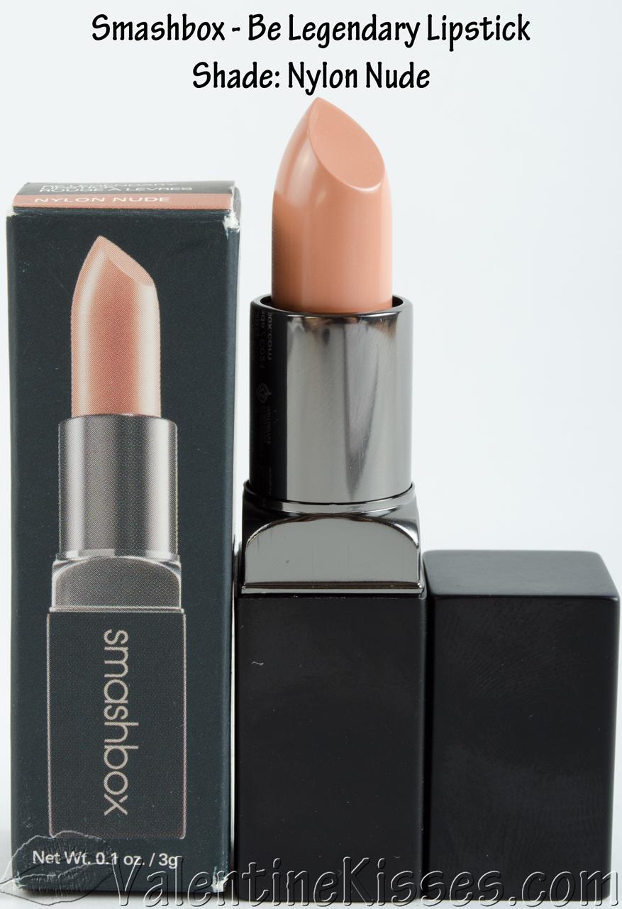 Valentine Kisses: Smashbox Be Legendary Lipstick In Nylon