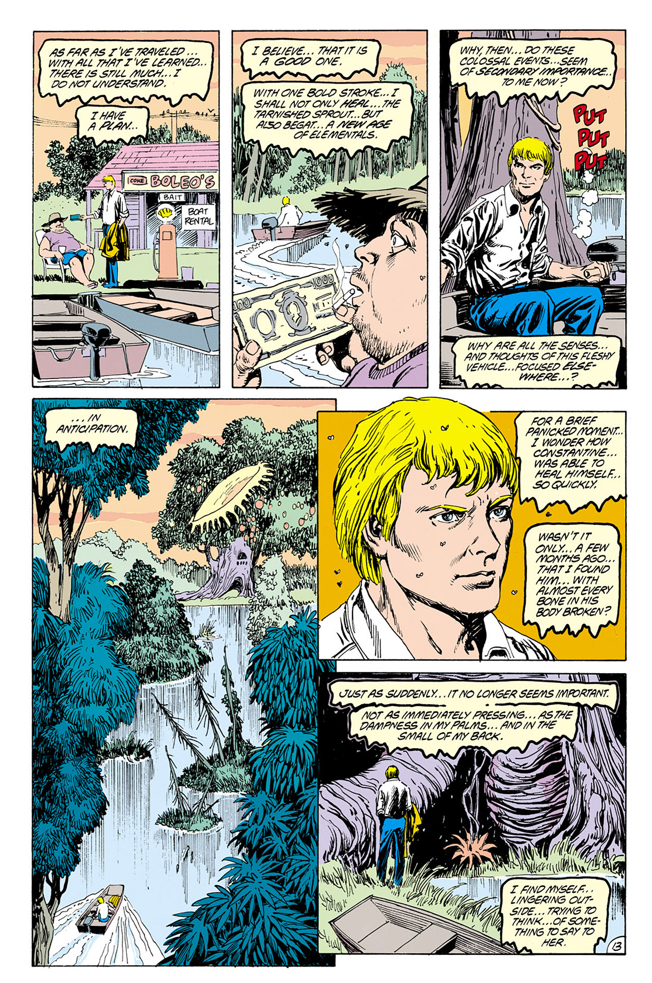 Swamp Thing (1982) Issue #76 #84 - English 13