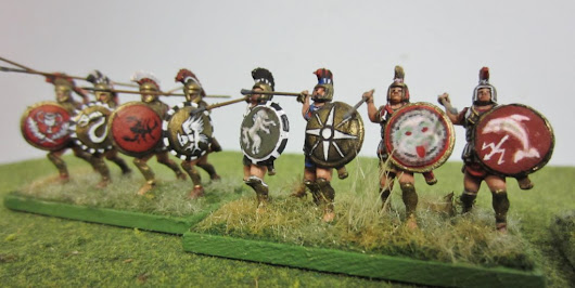 DBA Syracusan Army in 1\72nd
