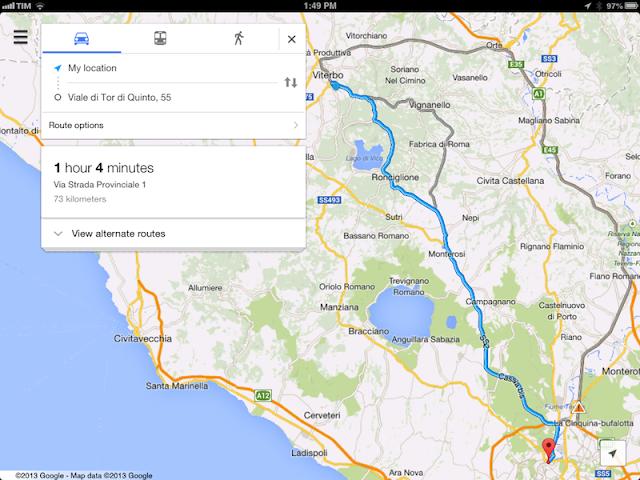 Программа Google Maps
