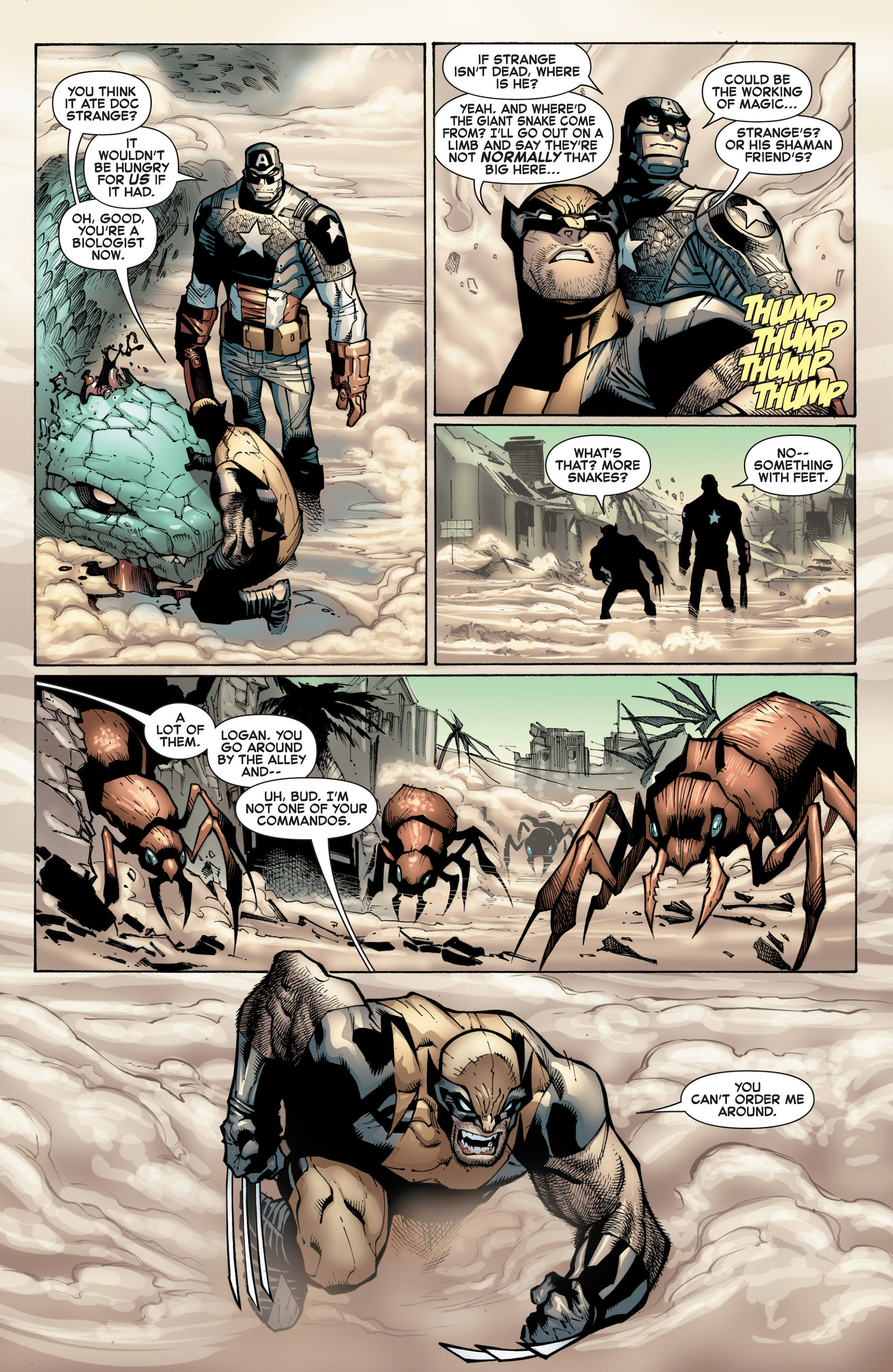 Read online A X comic -  Issue #9 - 6