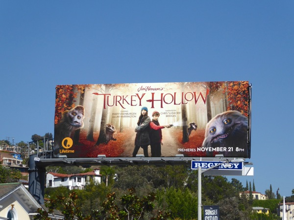 Jim Hensons Turkey Hollow billboard