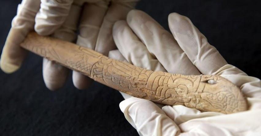 Hallazgo de hueso tallado confirma presencia de la Cultura Chavín en Lima
