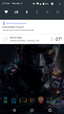 [UPDATE] Loaded Android O on the Nexus 6P - So far so good... 9