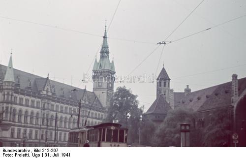 Braunschweig, Germany, 31 July 1941 worldwartwo.filminspector.com