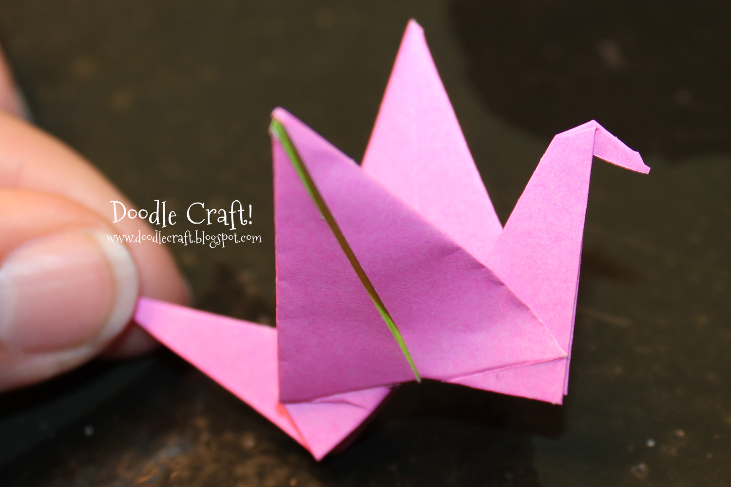 Origami Crane folding instructions (With images) | Origami crane ... | 1000x1500