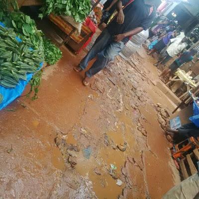 Faeces Litter Around Ogbete Main Market in Enugu [See Photos]