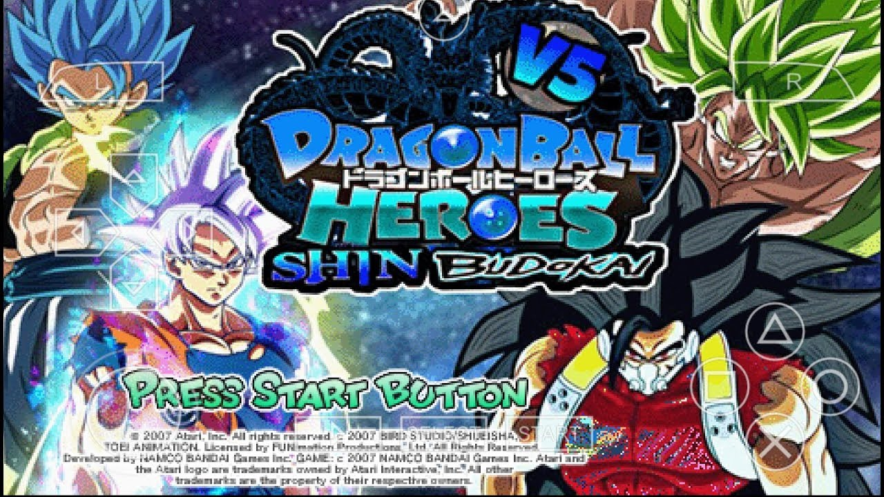 DOWNLOAD!! DRAGON BALL SHIN BUDOKAI HEROES V5 SUPER PSP ~ Android