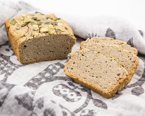 Gluten-free Hummus Buckwheat Bread