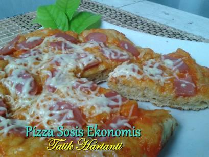 Pizza Sozzis yang mudah dibuat