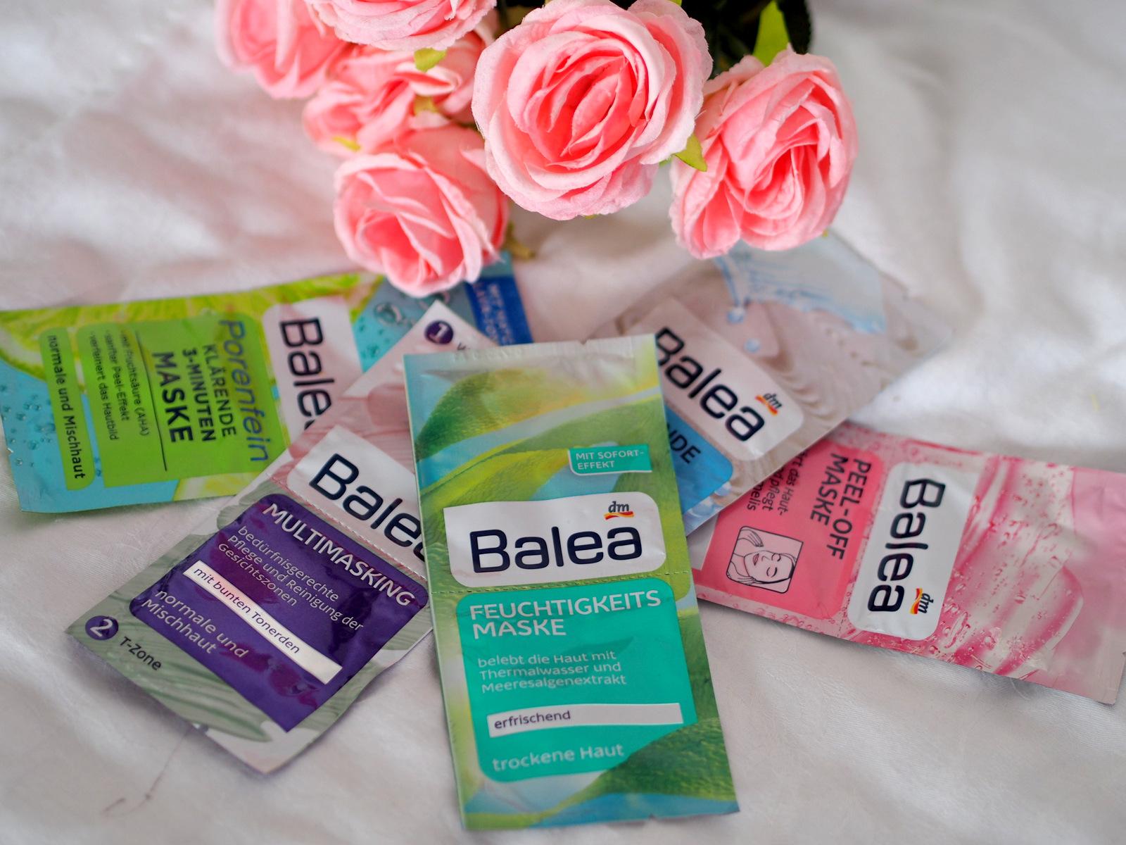 6 obľúbených pleťových masiek Balea // starostlivosť o pleť 30+