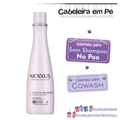 Condicionador Nexxus Youth Renewal No Poo e Cowash