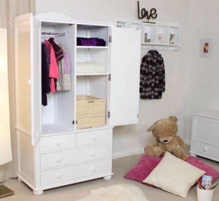 gambar lemari pakaian gantung untuk anak perempuan