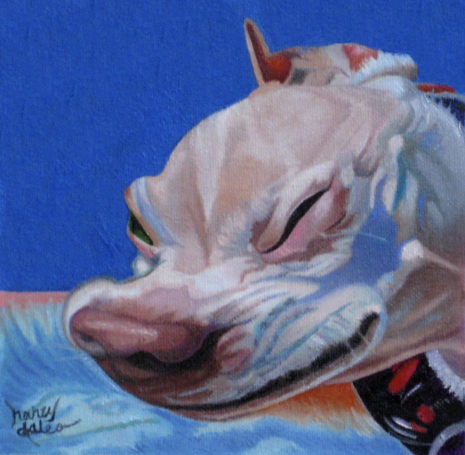 Art Of Hearts And Tails Achoo Deer Chihuahua Sneezing Original