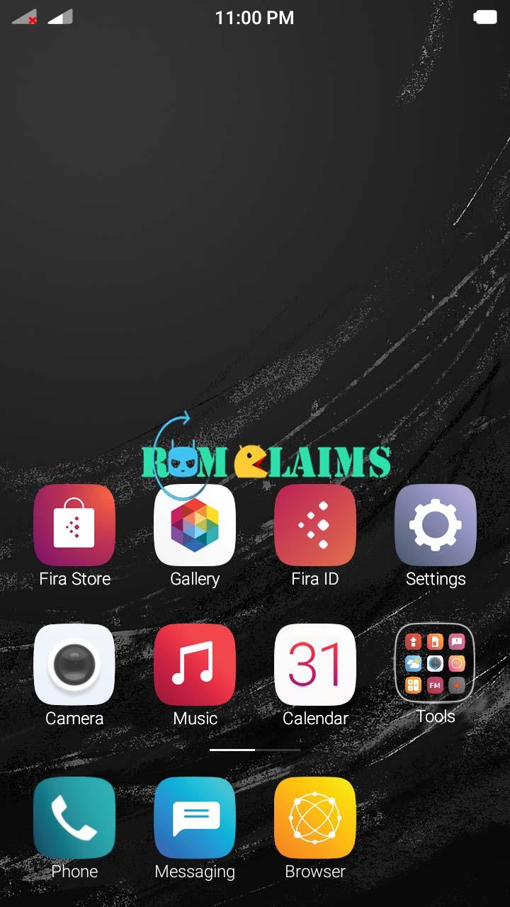 Mt6580 601 Fira Os Custom Rom For Lava Iris 820 Android Evercross U50c Screenshots
