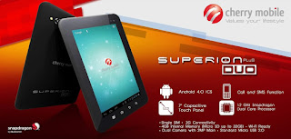 Cherry Mobile Superion Plus Duo 7 inch Tablet with Wifi and 3G