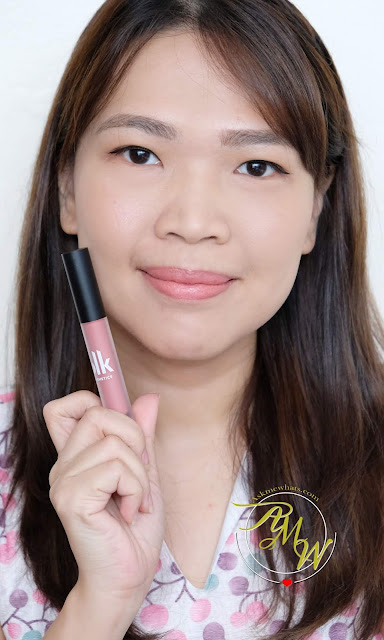 a photo of BlK Cosmetics SOFT Matte Mousse review in shade BOOYAH by Nikki Tiu of www.askmewhats.com
