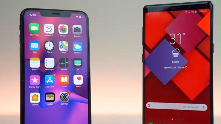 رسمياَ اَيفون iPhone Xs Max يحقق لقب أفضل شاشة في العالم ضد Galaxy Note