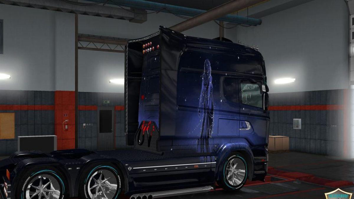 Girl Skin Pack V2 for Scania T & RJL