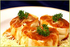 Receita de Rondelli de Batata com Tomate Seco