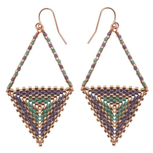 pinterest bead beading beadwork pixels and beads pin earrings