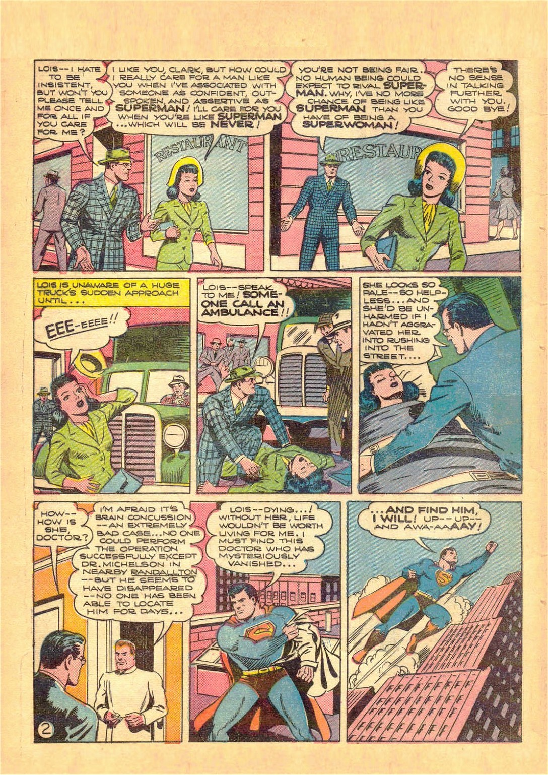 Action Comics (1938) 60 Page 2