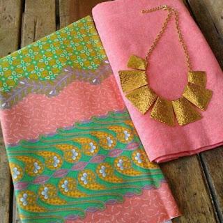 Kain Batik dan Embos 015 Pekalongan Pink