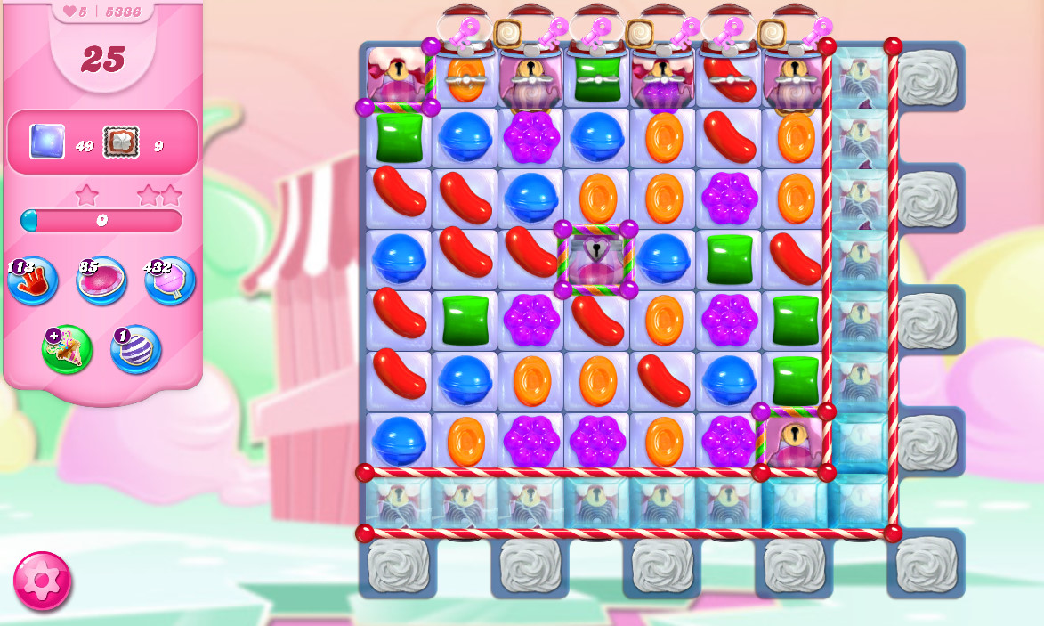 Candy Crush Saga level 5336