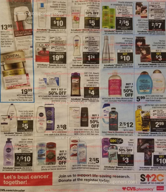cvs couponers cvs ad preview 9 17 9 23