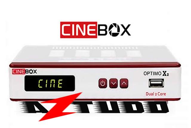 Resultado de imagem para CINEBOX OPTIMO X2   AZTUDO