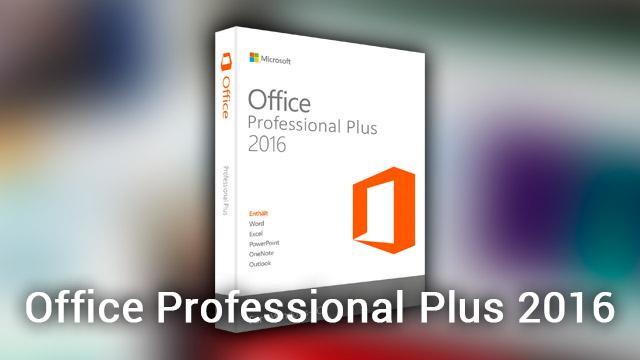 Microsoft office 2016 vk