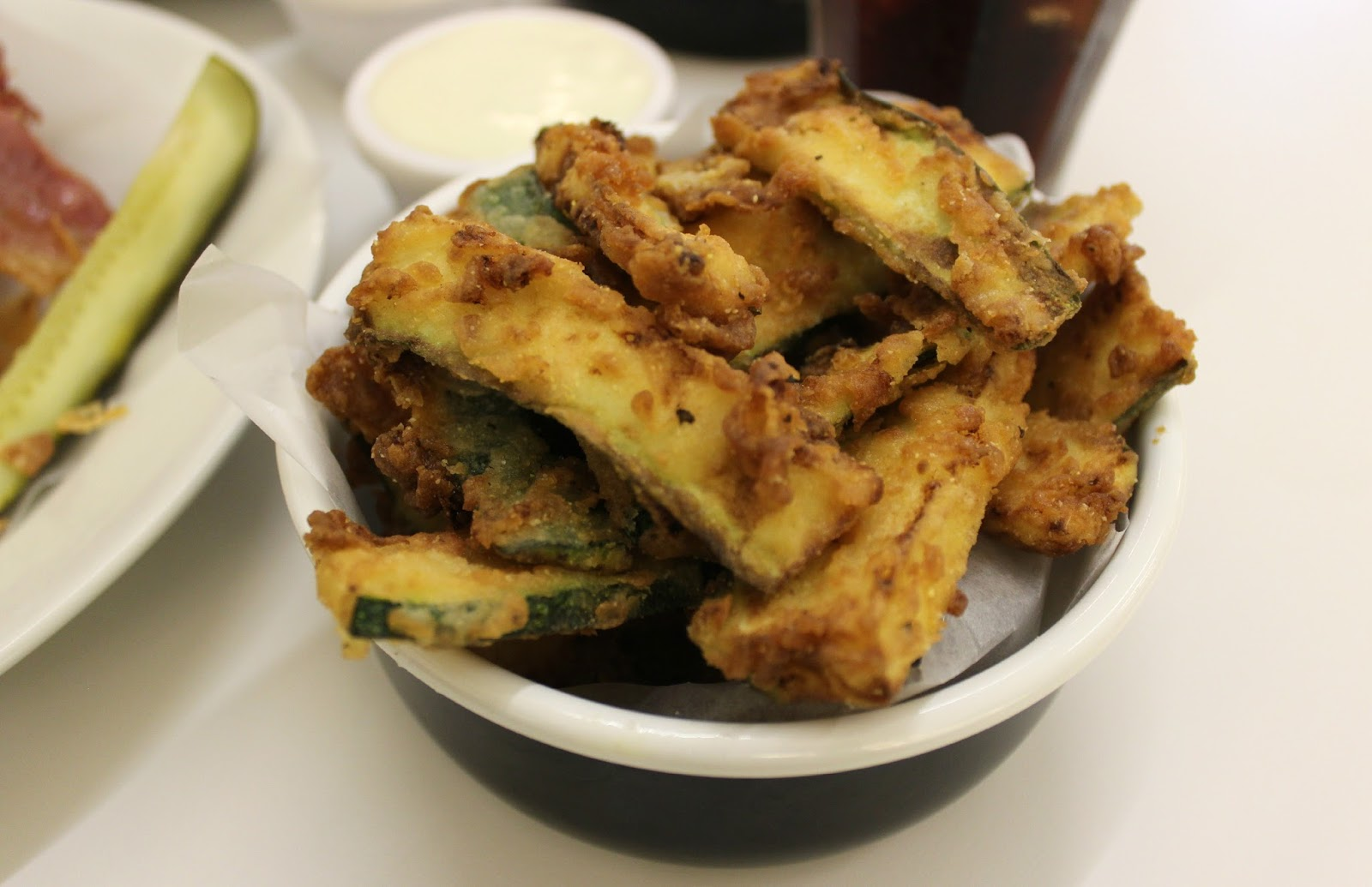 A picture of Byron Burger Courgette Fries at Highcross Leicester